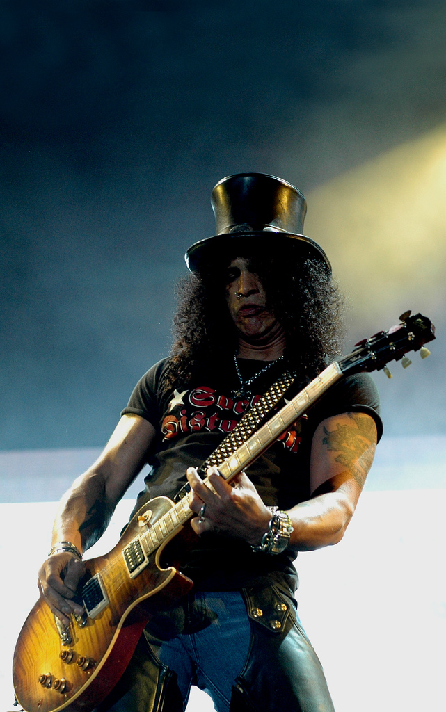 Slash. Drunk again.